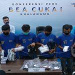 BNN Sumut mengamankan 4 pemuda membawa Narkotika jenis sabu