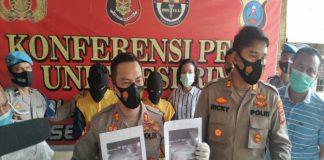 Petugas Kepolisian Unit Reskrim Polsek Percut Sei Tuan