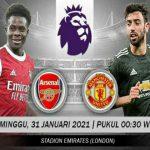 Menjamu Manchester United di Emirates Stadium, menjadi ujian Arsenal selanjutnya menjaga tren positif.