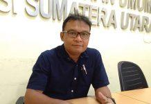 Anggota KPU Sumut, Benget Silitonga.