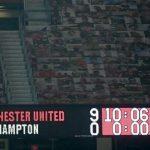 Menang telak 9-0 Manchester United atas Southampton