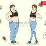 Terdapat sejumlah makanan yang dapat membuat berat badan turun meski tanpa berolahraga