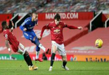 Manchester Unitedgagal menang atas Everton pada lanjutanLiga Inggrisdi Old Trafford