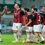 Zlatan Ibrahimovic mencetak dua dari empat gol dalam laga AC Milan vs Crotone