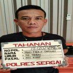 Pelaku penganiyayaan terhadap Aktivis anti korupsi Sumut menyerahkan diri ke Mapolres sergai didampingi kuasa hukumnya