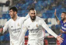 Real Madrid sukses menaklukkan Getafe 2-0 dalam lanjutan La Liga di Estadio Alfredo Di Stefano