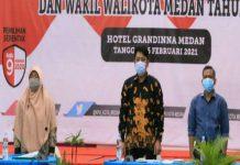 Ketua KPU Kota Medan, Agussyah R Damanik menegaskan, rapat pleno penetapan paslonwalikota dan wakil wali kota terpilih