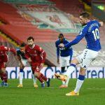 Everton mempermalukan Liverpool dengan skor 2-0 pada lanjutan Liga Inggris