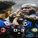 Duel sengit memerebutkan puncak klasemen sementaraLiga Italiaterjadi antara AC MilandanInter Milan