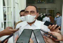 Gubernur Sumatera Utara Edy Rahmayadi meminta agar Satgas Covid-19 membubarkan kegiatan Kongres Luar Biasa (KLB) Partai Demokrat yang digelar di Hotel The Hill Sibolangit