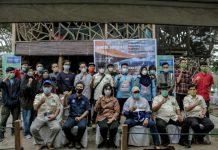 Federasi Arung Jeram Indonesia (FAJI) Sumatera Utara, menggelar kegiatan bimbingan tekhnis sertifikat Kebersihan, Kesehatan, Keselamatan dan Kelestarian Lingkungan (CHSE) di Taman Cadika, Kecamatan Medan Johor.