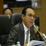Dalam rapat kerja Komisi XI DPR RI dengan Dewan Gubernur Bank Indonesia di Jakarta, anggota Komisi XI DPR RI Gus Irawan Pasaribu mengapresiasi kepada BI