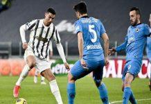 Juventus kembali ke jalur kemenangan. Setelah ditahan imbang Hellas Verona akhir pekan lalu, kini SI Nyonya Tua sukses merengkuh kemenangan atas Spezia pekan ke-25 Liga Seri-A dengan skor 3-0 di Stadion Allianz.