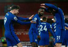 Gol tunggal Mason Mount di penghujung babak pertama tepatnya di menit ke-42' mengantar kemenangan 1-0 Chelsea atas Liverpool di Anfield, Jumat dinihari (5/3/2021) WIB.