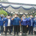 DPD Partai Demokrat Sumatera Utara (Sumut) bersama seluruh DPC akan bergerak menuju lokasi acara Kongres Luar Biasa (KLB) Partai Demokrat di Hotel The Hill, Sibolangit Kabupaten Deliserdang.