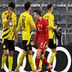 Bayern Munich menunjukkan mental tim juara usai comeback4-2 melawan Borussia Dortmund, Minggu (7/3/2021) dini hari WIB.