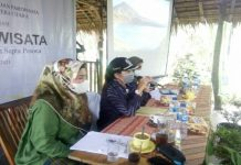 Dinas Pariwisata Sumut bersama Dinas Pariwisata Langkat menggelar sosialisasi sadar wisata lingkungan dan sapta pesona 2021 di Wisata Explore Sumatera, Pangkal Namu Sira-Sira, Kecamatan Sei Bingai, Langkat, Rabu (24/3/2021).