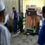 Beberapa hari menjelang bulan suci Ramadhan, puluhan warga lingkungan 15 Kelurahan Terjun, Kecamatan Medan Marelan, mengobrak-abrik dua lokasijudi, Rabu (31/3/2021)