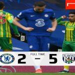 Setelah menjalani 14 pertandingan tanpa kekalahan, Chelsea akhirnya takluk 2-5 di tangan West Brom pada pekan ke 30 Liga Inggris 2020/2021, di Stamford Bridge, Sabtu (3/4/2021).