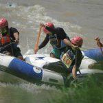 Pelaksanaan Pekan Olahraga Arung Jeram Federasi Arung Jeram Indonesia (FAJI) Kota Medan 2021, yang dilaksanakan, Selasa (6/4/2021), di Kanal Sungai Deli, Kecamatan Medan Johor berlangsung sukses.