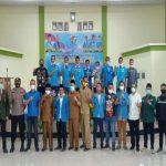 Tokoh Muda Irham Habibie Harahap terpilih secara aklamasi dalam Musyawarah Daerah (Musda) III DPD KNPI Kabupaten Padang Lawas (Palas) di Hotel Al Marwah Sibuhuan, Senin (5/4/2021).