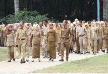 Pemerintah akan segera mencairkan tunjangan hari raya (THR) untuk PNS, TNI, Polri pada tahun ini