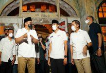 Walikota Medan, Muhammad Bobby Nasution saat meninjau Gedung Warrenhuis bersama Mentri Pariwisata dan Ekonomi Kreatif, Sandiaga Uno beberapa waktu lalu