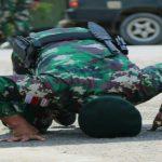 Kepulangan para prajurit yang bertugas di sektor utara Papua selama 9 bulan.