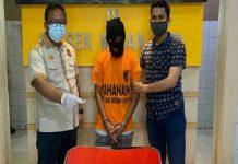 Pria berinisial BS, 30, warga Jalan Garu II, Gang Indra, Kecamatan Medan Kota, nekat hendak menelan satu paket sabu seberat 0,19 gram saat akan ditangkap Tim Tekab Polsek Medan Kota.
