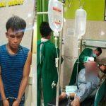 Seorang pemuda berinisial RS, 31, nekat membacok anggota Polri yang bertugas di Satuan SabharaPolres Langkat.
