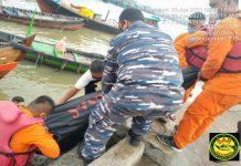 Jenazah Fuja Sugito (27), seorang anak buah kapal (ABK) yang hilang diperairan PT Inalum berhasil ditemukan, Jumat (23/4/2021) sekitar pukul 07.30 WIB.