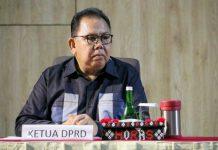 Ketua DPRD Sumut, Baskami Ginting