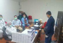 Direktorat Reserse Kriminal KhususPolda Sumatera Utaramenggerebek Bandara Kualanamu Deliserdang terkait dugaan penggunaan alat rapid test bekas pakai pada layanan tersebut.