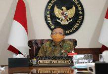 Menteri Koordinator Politik, Hukum, dan Keamanan (Menko Polhukam)Mahfud Md