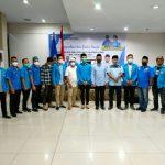 Sumatera Utara menggelar silaturahmi antar pengurus, Majelis Pemuda Indonesia (MPI) dan penasehat di aula Saka Hotel Medan, Sabtu (8/5/2021) petang.