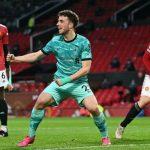 Tuan rumah Manchester United dibenam dengan skor 2-4 atas Liverpool dalam laga lanjutan Liga Inggris di pekan ke-36 2020/21 di Stadion Old Trafford, Jumat (14/5/2021) dini hari WIB.