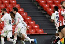 Athletic Bilbao harus mengakui keunggulan Real Madrid dengan skor tipis 0-1 pada pertandingan lanjutan La Liga di pekan ke-37, Minggu (16/5/2021) dini hari WIB.