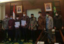 Pemerintah Kota Tebing Tinggi resmi menghibahkan gedung kampus senilai Rp16 miliar kepada Kementerian Agama, UIN Sumatera Utara (UINSU).
