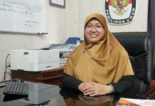Anggota KPU Kota Medan Divisi Program, Data dan Informasi KPU Kota Medan Nana Miranti