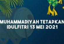 PP Muhammadiyah menetapkan 1 Syawal 1442 jatuh pada tanggal 13 Mei 2021. Hasil itu berdasarkan hasil hisab hakiki wujudul hilal yang dipedomani oleh Majelis Tarjih dan Tajdid Pimpinan Pusat Muhammadiyah.
