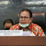 Ketua DPRD Provinsi Sumatera Utara Drs Baskami Ginting