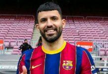Barcelona FC resmi merekrut Sergio Aguero dari Manchester City. Hal ini dipastikan setelah klub catalan itu memperkenalkan si pemain kepada publik, Senin (31/5/2021).