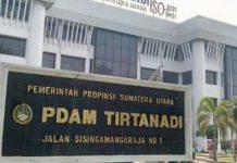 Gubernur Sumatera Utara (Sumut) Edy Rahmayadi melalui Surat Keputusannya tertanggal 10 Juni 2021 mencopot dua Direksi Perusahaan Daerah Air Minum (PDAM) Tirtanadi selaku Kuasa Pemilih Modal (KPM).