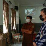 Ombudsman RI Perwakilan Sumatera Utara (Sumut) melakukan monitoring Penerimaan Peserta Didik Baru (PPDB) di SMA N 1 Medan di Jalan Cik Ditiro, Senin (14/6/2021)