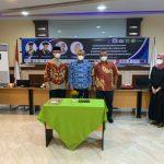 Program Studi (Prodi) Ilmu Komunikasi Fakultas Ilmu Sosial Ilmu Politik Universitas Medan Area (Fisip UMA) menjalin Memorandum of Agreement (MoA) dengan 22 mitra secara hybrid di ruang convention kampus UMA Jalan Kolam, Selasa (15/6/2021).