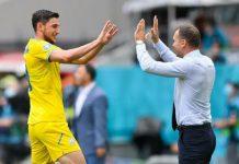 Kemenangan Ukraina 2-1 atas Makedonia Utara di Stadion Nasional, Kamis (17/6) 2021) Membuat persaingan semakin sengit