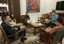 Ombudsman RI Perwakilan Sumatera Utara (Sumut) menemui Wakil Gubernur Sumut Musa Rajekshah terkait permasalahan Penerimaan Peserta Didik Baru (PPDB) Sumut 2021.