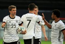 Kemenangan telak 4-2 diraih tim Jerman atas Portugal di pertandingan penyisihan Grup F Euro 2020 yang berlangsung di Allianz Arena, Sabtu (19/6/2021) membuat persaingan semakin ketat.
