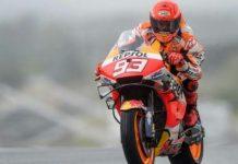 Pebalap Motor Repsol Honda, Marc Marquez akhirnya kembali naik podium setelah menjadi yang terbaik di MotoGP Jerman, Minggu (20/6/2021).