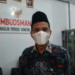 Kepala Ombudsman RI Perwakilan Sumut Abyadi Siregar